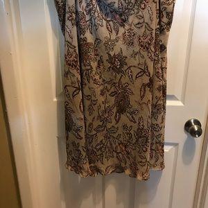 Dress Barn Plus Size Print Skirt